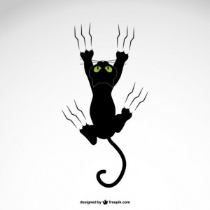 cat-grabing-with-claws-vector-design_23-2147493577